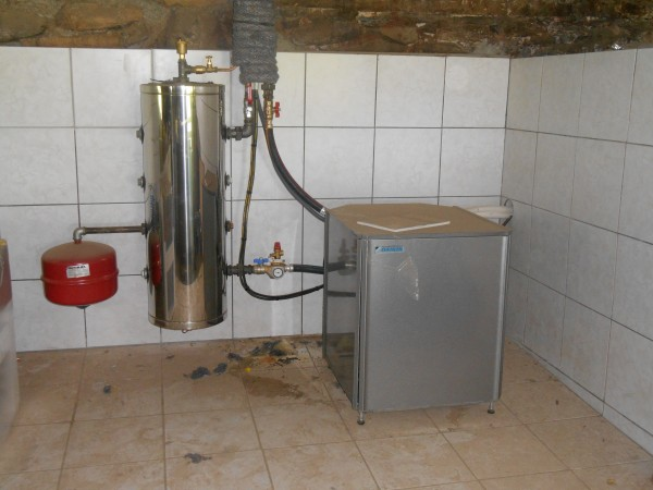 chauffage pac air eau